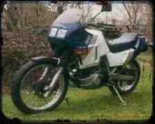 GILERA Xrt600 89 3 A4 Foto Impresión moto antigua añejada De