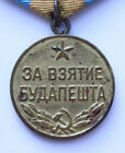 Original Old Soviet Russian WWII Medal Capture of Budapest USSR CCCP WW2 See