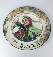 Vintage Royal Doulton Seriesware The Jester Ceramic Collectable Plate
