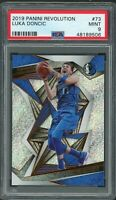 Luka Doncic Dallas Mavericks 2019 Panini Revolution Basketball Card #73 PSA 9