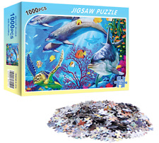 Jigsaw Puzzle 1000 Piece BRAND NEW For Kids & Adults - Fantasy Aquarium
