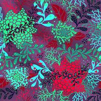 Premium-Baumwolle mit Blatt-Design 44'' breit von The Yard Apparel - Sweatshirt