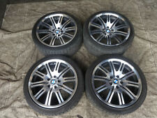 """BMW E46 M3 Coupe 2001-2006 M3 19"""" inch Genuine staggered alloy wheels + tyres"""