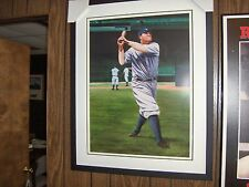 Archival quality, limited edition lithograph of Babe Ruth