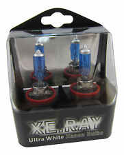 ORIGINAL xe.ray H11 Xenon Gas que han sido Llenados bombillas super blanca azul