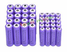 20 AA 3000mAh + 20 AAA 1800mAh Ni-Mh Rechargeable Battery Cell for MP3 RC Toy