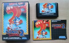 SEGA Megadrive - Sonic The Hedgehog 2 - Manual INCLUDED