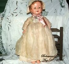 ANTIQUE HORSMAN COMPOSITION SLEEPY EYES OPEN MOUTH DOUBLE JOINTED GIRL DOLL