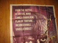 The Terror Original 3sh movie poster '63 Boris Karloff, Jack Nicholson. UNUSED
