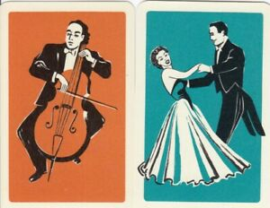 GENUINE SWAP PLAYING CARD - 1 SINGLE LADIES AND GENTS - #6
