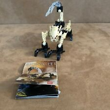 8977 Lego Complete Bionicle Agori Zesk tan action figure instructions