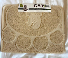 Cat Litter Mat Durable Pet Litter Rugs for Cats, Dogs, Rabbits (2-Pack)