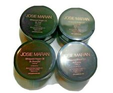 Four 2 oz. jars of JOSIE MARAN Whipped Argan Oil 2 oz jars each Body Butter