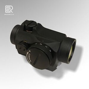 Aimpoint Style Micro T2 Red Dot Sight QR X2 Mounts Airsoft Black New