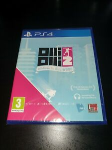 Olli Olli 2 Welcome to Olliwood PS4 Game, Brand New & Sealed, 1st Class Post