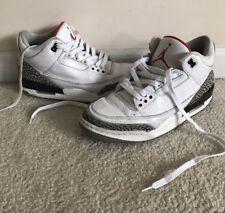 Nike Air Jordan Retro 3 III White Cement Men Size 9.5 136064 105 OG 2011