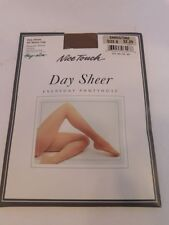Nice Touch Day Sheer Everyday Pantyhose All Nylon Leg Color: Sandstone Size: B