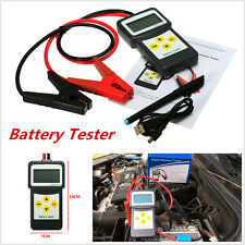 12V 30-200Ah Car Battery Load Tester MICRO-200 Charger Battery Analyzer AGM CCA