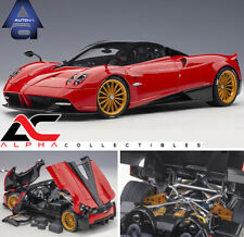 AUTOART 78287 1:18 PAGANI HUAYRA ROADSTER (ROSSO MONZA/RED) SUPERCAR