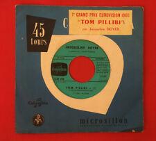 JACQUELINE BOYER TOM PILLIBI GOULI SCRF390 EUROVISION 1960 VG- VINYLE 45T SP