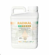 Désherbant Radikal Professionnel Concentré 5L Mauvaises Herbes Herbicides Neuf