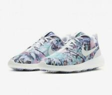 WOMENS NIKE ROSHE G ,,FLORAL'' GOLF SHOES SIZE 4.5 EUR 38 (AA1851 500)