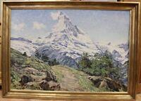 Gemälde von Ernst Faehndrich  Matterhorn