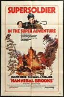 Hannibal Brooks Oliver Reed Original 1969 ONE SHEET MOVIE POSTER 27 x 41 -