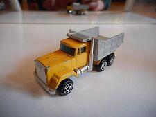 Majorette US Dump truck in Yellow/Grey