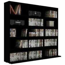 5 Tier Book Shelf Rack Storage Organizer Cd Cabinet Bookcase Display Wood shelf