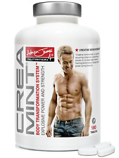 Adrian James Nutrition – Creamint® Muscle Building Creatine Monohydrate Mints