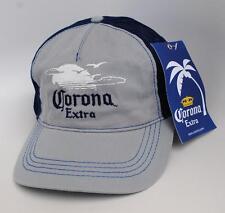 NWT Corona Extra Beer One Size Strapback Curved Brim Baseball Cap Hat