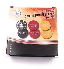 Offizielle Dfb Filzuntersetzer 6er Set Deutschland Farben mit DFB Aufschrift WM