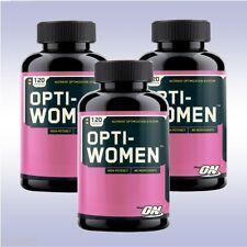 OPTIMUM NUTRITION OPTI WOMEN (3-PACK: 120 CAP EA) multi vitamin men amino energy