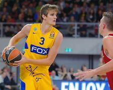 Dragan Bender Phoenix Suns/Maccabi Tel Aviv Autographed 8x10 Photo