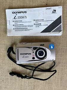 Olympus iZOOM 75 APS Point & Shoot Film Camera