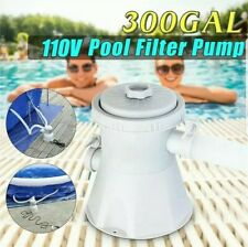 330Gal Above Ground Swimming Pool Cartridge Filter Pump ship usps priority mail