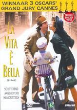 LA VITA E BELLA :  WINNAAR 3 OSCARS - dvd NIEUW - gratis verzending
