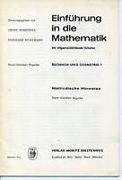 Schröder/Uchtmann, Einführung in die Mathematik, Rechnen und Geometrie 1