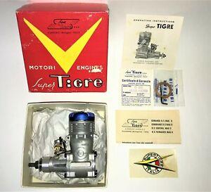 Super Tigre G 60 Blue Head ABC RC Glow / Nitro Airplane Engine .60 cu.in. N.O.S