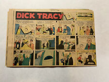 Dick Tracy Newspaper Comics Sundays 1958 InComplete Year 35 Total Great Shape!