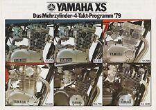 Yamaha Motorrad Prospekte von ca. 1978 und 1991