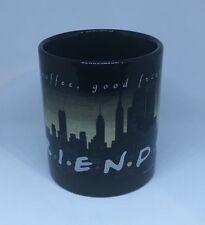 Vintage 1995 Friends TV Show Coffee Mug - Black New York City Skyline