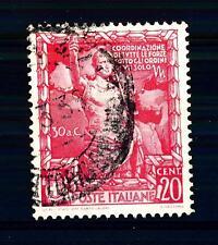 ITALIA - Regno - 1938 - Proclamazione dell'Impero - 20c. rosso. Augusto