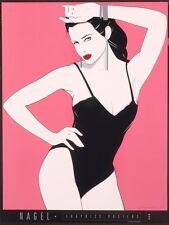Nagel Patrick BLACK TEDDY Fine Art Print Sexy Swimsuit