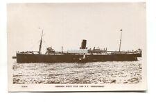 SS Demosthenes, Aberdeen White Star Line passenger & cargo liner - old postcard