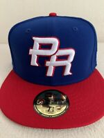 New Era Puerto Rico World Baseball Classic Fitted Cap 59Fifty 5950 Hat 7 3/8 NEW