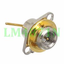 1pce Connector SMA plug 2-hole flange Kenwood Radio TK2107 3107 2260 3160 3260
