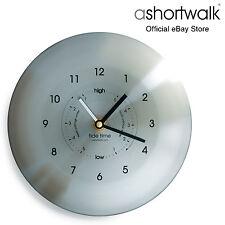 Ashortwalk Time & Tide Orologio-Acciaio Inossidabile Spazzolato