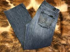 7 For All Mankind Women's A Pkt Bootcut Denim Jeans 29 X 34